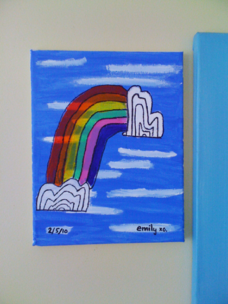 Rainbow canvas