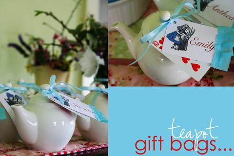 Teapot gift bagsA