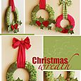 J054 Christmas wreath