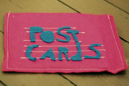 Postcard holder