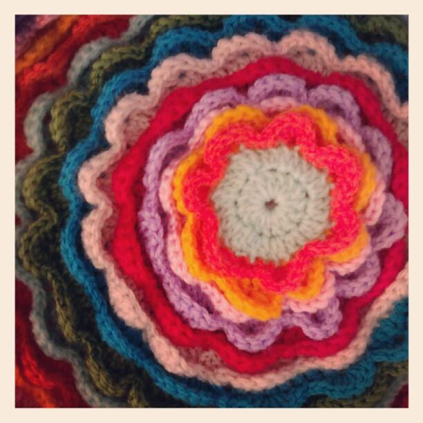 Progress shot 5 blooming flower cushion emily wind
