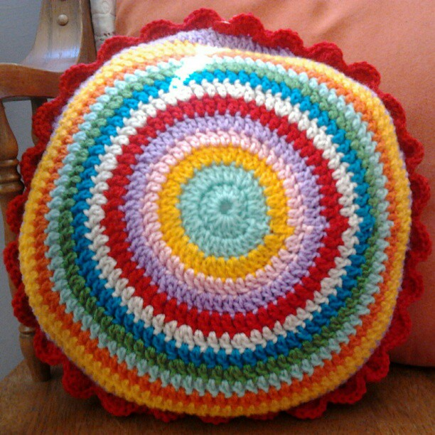 Blooming flower cushion finished emily wind #3