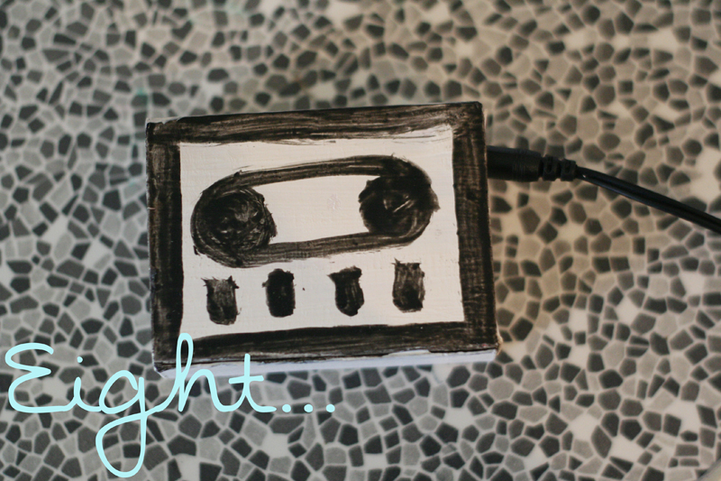 Diy cassette player 9