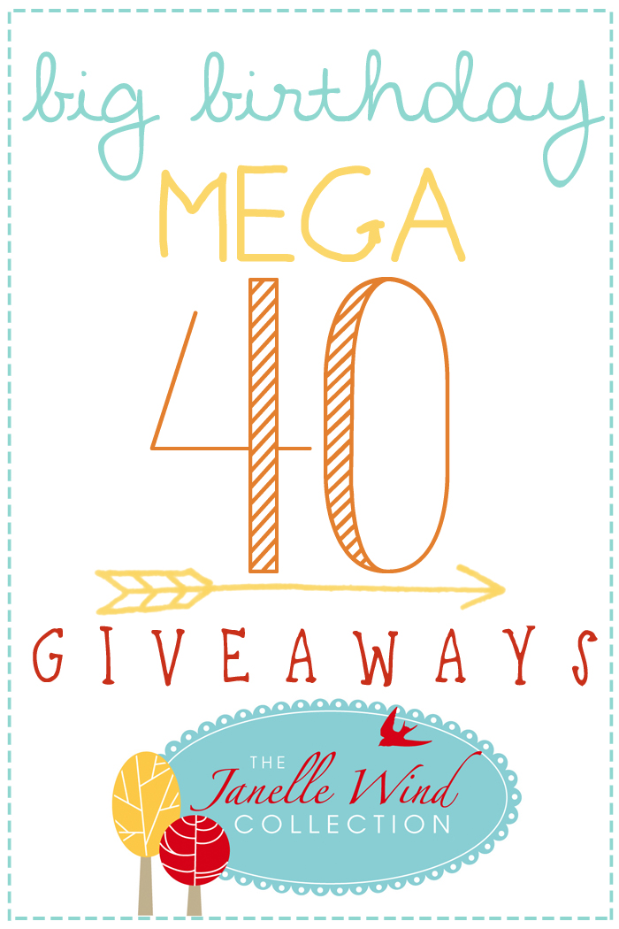 Big birthday mega giveaways image