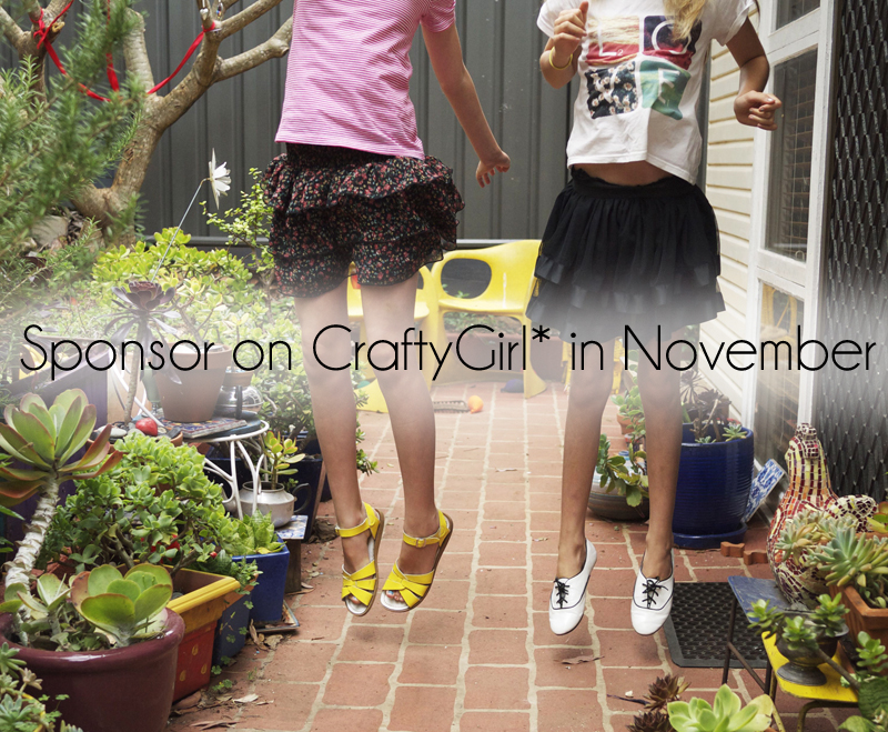 Sponsor in craftygirl in november