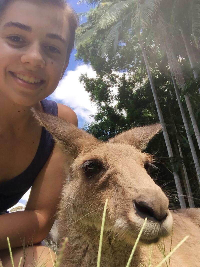 QLD selfie