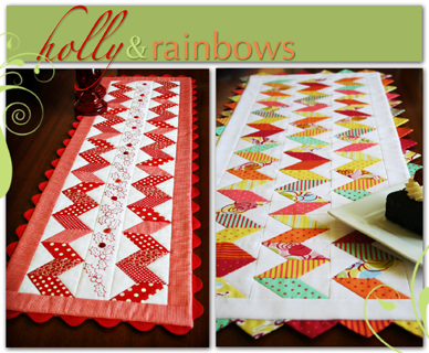 J033 Holly & Rainbows