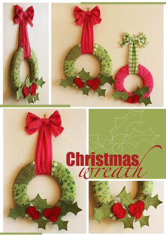 J054 Christmas wreath