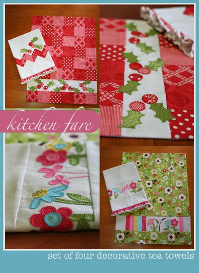 Kitchen fare pattern cover - promo